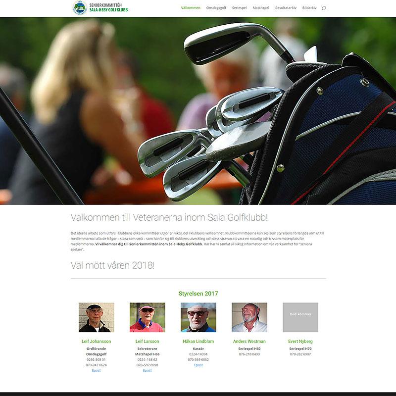 Veterankommitten Sala Golfklubb